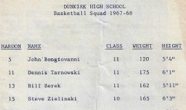 1967-68 Dunkirk basketball team