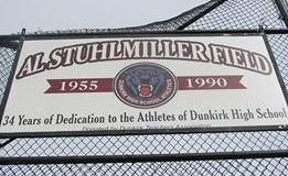 Al Stuhlmiller Field at Dunkirk High School.