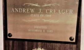 Pine Crest Athletic Hall of Fame. 1993..