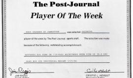 <em>Post-Jounral</em> Player Of The Week.