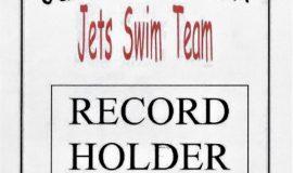 Jamestown YMCA record holder award.