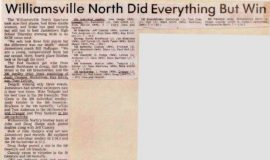 Williamsville North Did Everything But Win. 1984.