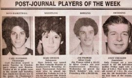 Post-Journal Players of the Week.