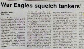 War Eagles squelch tankers' efforts.
