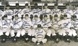 1953 Olean Yankees: Art Asquith is in back row on right. Bobby Richardson is in front row, second from left.