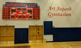 Art Asquith Gymnasium.