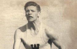 Ben Bishop at Wooster College (circa 1935-37).