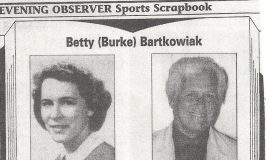 "Betty ""Burke"" Bartkowiak. 1986."