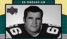 Bill Bergey trading card, Upper Deck - 2004.