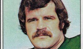 Bill Bergey trading card, Topps - 1975.