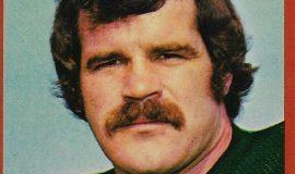 Bill Bergey trading card, Topps - 1976.