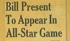 Bill Present To Appear In All-Star Game, 1942.