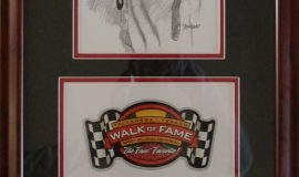 Talladega Walk of Fame plaque.