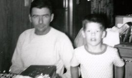 Bill Rexford with his son, Dennis.