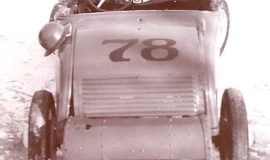 Marmon with a Model A body was raced by Bill Rexford at Pennyroyal Speedway in Leon, NY in 1949