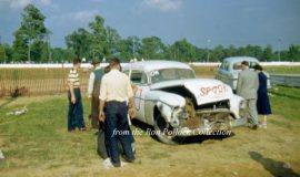 Bill Rexford's #60 on May 31, 1951 at Canfield Speedway