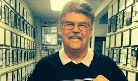 Bill's son Dennis Rexford visited the CSHOF in May 2016.