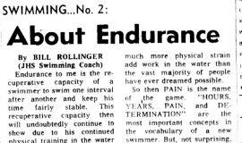 About Endurance. December 27, 1971.