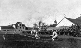 Celoron Park home plate.