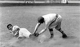 Play at third base, Celoron Park.