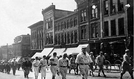 Parade in Jamestown.
