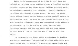 William M. Webb, The Man and His Legacy, by Greg Peterson. Page 10.
