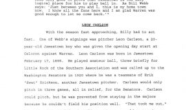 William M. Webb, The Man and His Legacy, by Greg Peterson. Page 15.