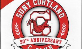 SUNY Cortland C-Club Hall of Fame Induction Banquet program cover, 2018.