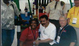 Bob Goold met Muhammad Ali , 2003.