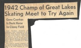 1942 Champ of Great Lakes Skating Meet to Try Again