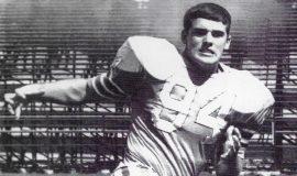 Bob Palcic at University of Dayton, 1971.