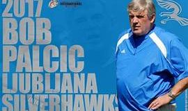 Bob Palcic head coach of the Ljubljana Silverhawks from Slovenia, 2017.