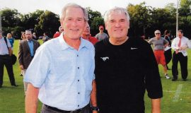 Bob Palcic with George W. Bush, 2012.