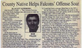 County Native Helps Falcons' Offense Soar. 1995