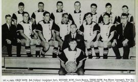 Jamestown Community College basketball team, 1966.