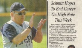 Schmitt Hopes To End Career On High Note This Week, page 1. 2003.