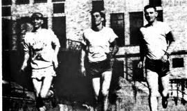 Train For Marathon. October 20, 1951.