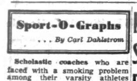 Sport-O-Graphs. December 27, 1951.