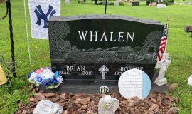 Brian Whalen grave marker