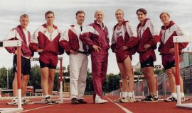 1996 Chautauqua Central relay team