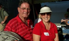 Mr. and Mrs. Jim DeSantis (brother of inductee Lou DeSantis).