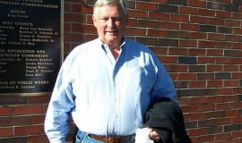 Inductee Bill Rollinger.