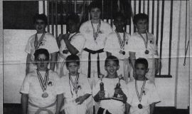 Karate Award Winners. April 2, 2001.