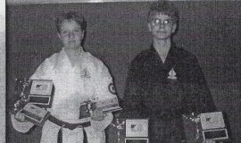 Karate Competitors. June 12, 2001.