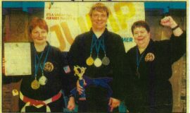Martial Arts Medals Winner. June 10, 2013.