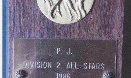 Chris Carlson was a <em>Post-Journal</em> Division 2 All-Star. 1986.