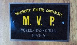 Chris Carlson was the 1990-91 PAC basketball MVP.