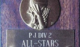 Chris Carlson was a <em>Post-Journal</em> Division 2 basketball All-Star. 1987.