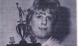 Chris Carlson,  basketball scoring champion. 1986