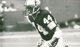 Chuck Crist with New Orleans Saints.